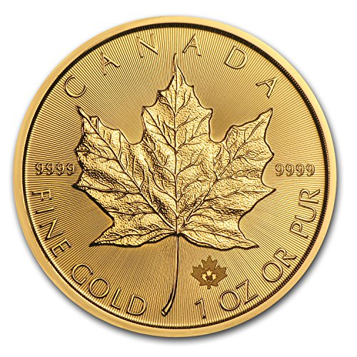 2016 CA Canada 1 oz Gold Maple Leaf BU 1 OZ Brilliant Uncirculated (Apmex compare prices)