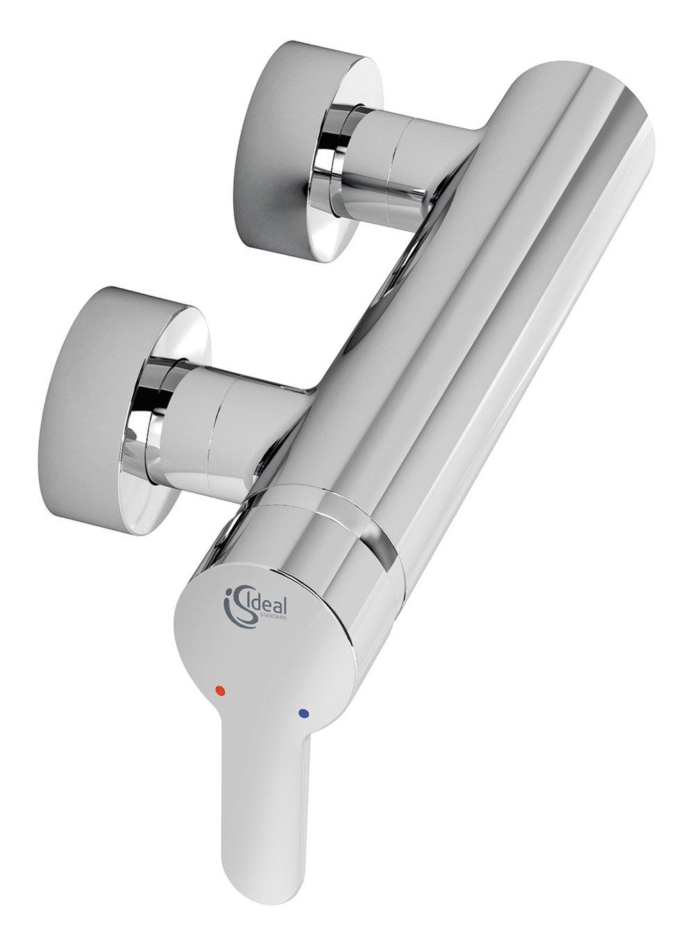 Ideal Standard B9924AA Brause Armatur Connect Blue Aufputz, verchromt  BaumarktKundenbewertung und Beschreibung