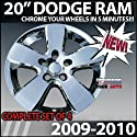 2009-2010 Dodge Ram 20 Inch Chrome Wheels Skins-Wheel Covers