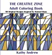 The Creative Zone: An Adult Coloring Book Inspired by Stained Glass