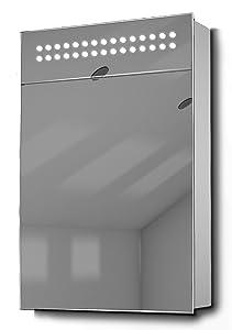 Jewel Demister LED Bathroom Cabinet With Demister Pad, Sensor & Shaver k73       Customer reviews and more news