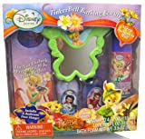 Disney Tinkerbell Bathing Beauty 6 Pcs Gift Set (Mirror, Bath Foam, Lotion, Door Hanger, Comb, Shampoo)
