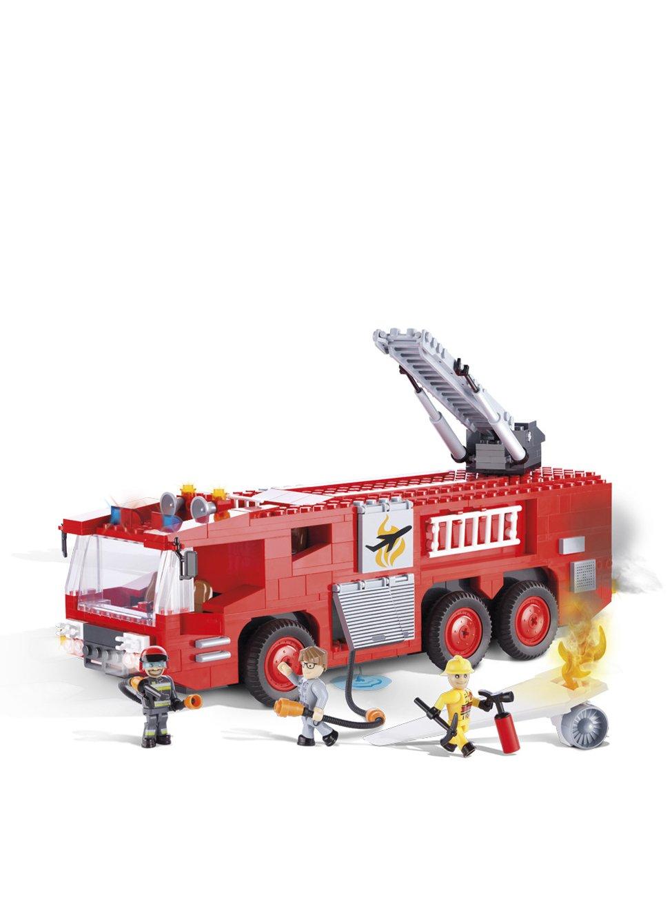 COBI 1467 – Flughafen Feuerwehr aus der Action Town Serie – 420 Bausteine günstig online kaufen