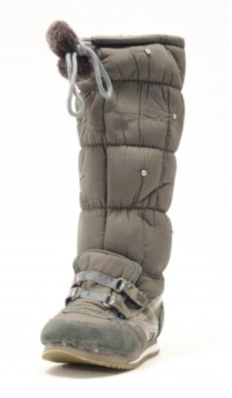 Winterstiefel KIDS Farbe Grau gefüttert mit Strasssteinchen online bestellen