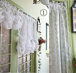 Country victorian lace curtain - DecorLinen.com.