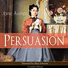 Persuasion Audiobook by Jane Austen Narrated by Alice Johnson