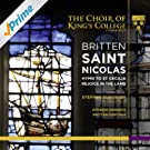 Britten: Saint Nicolas, Hymn to St Cecilia & Rejoice in the Lamb