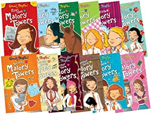 Malory Towers Collection - 12 Books, RRP £59.88 (First Term; Second Form; Third Year; Upper Fourth; In the Fifth; Last Term; New Term; Summer Term; Winter Term; Fun and Games; Secrets; Goodbye) (Malory Towers)