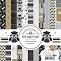 Doodlebug Designs The Graduate 6x6 Graduation Scrapbook Paper Pad
