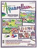 Sentosphere - 6250 R - Loisir Créatif - Recharge Aquarellum - Villages Américains