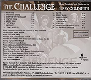 THE CHALLENGE (OUT OF STOCK AT PROMETHEUS)