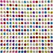 Funcy Crystal Diamond Sticker Adhesive Rhinestone Gem self adhesive (Multi)