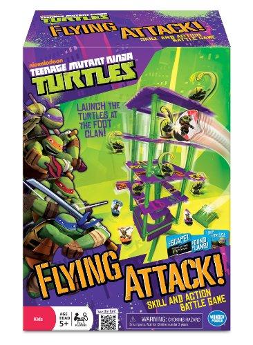 Teenage Mutant Ninja Turtles Flying Attack Board Game front-521160