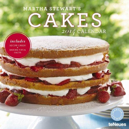 2014 Martha Stewart's Cakes Wall Calendar