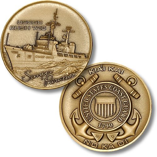 USCGC Rush (WHEC-723) Challenge Coin