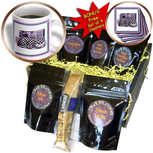 Cgb_31491_1 Susan Brown Designs General Themes - Cat Magazine Holder - Coffee Gift Baskets - Coffee Gift Basket front-283946