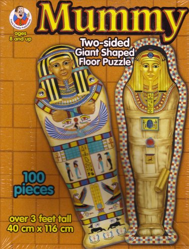 Cheap Frank Schaffer Mummy Two Sided Giant Shaped Floor Puzzle (B000WHBGKO)