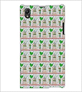PrintDhaba Pattern D-5381 Back Case Cover for SONY XPERIA Z1 (Multi-Coloured)