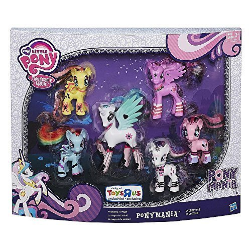My Little Pony Friendship Is Magic Pony Mania 6 Pack by Hasbro