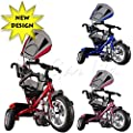 Kiddo 2015 Smart Design 4-in-1 Childrens Tricycle Kids Trike 3 Wheel Bike Parent - New