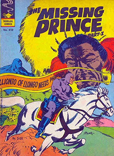 Indrajal Comics-412-Phantom & Buz Sawyer (2 in 1): The Missing Prince Part-1 (1982) (English Edition)