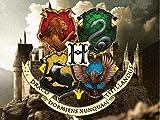 Harry Potter Hogwarts Edible Image Photo Cake Topper Sheet Birthday - 1/4 Sheet - 10827