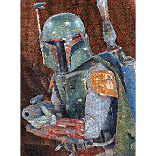 Games Star Wars Photomosaic: Boba Fett - 1000 Piece Jigsaw Puzzle by Buf (1000 Piece Personal Photo Puzzle compare prices)