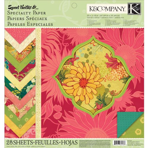 K&Company Sweet Nectar Mod 12-by-12-Inch Specialty Paper Pad (Mod Company compare prices)