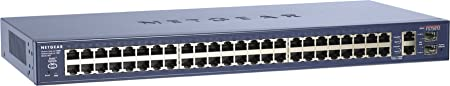 Netgear FS750T2EU Smart Switch Prosafe 48+2 Ports Web Manageable Niveau 2