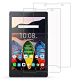 [Pack of 2] Lenovo Yoga TAB 3 8 Screen Protector, Gzerma Ultra HD Clear Shatterproof [Case Friendly] Front Protective Film Cover for Lenovo TAB3 8.0 Inch Tablet (Color: 2 x Lenovo TAB 3 8 Screen Protector, Tamaño: 8 Inches)