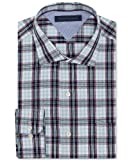 Tommy Hilfiger Mens Slim Fit Checked Dress Shirt