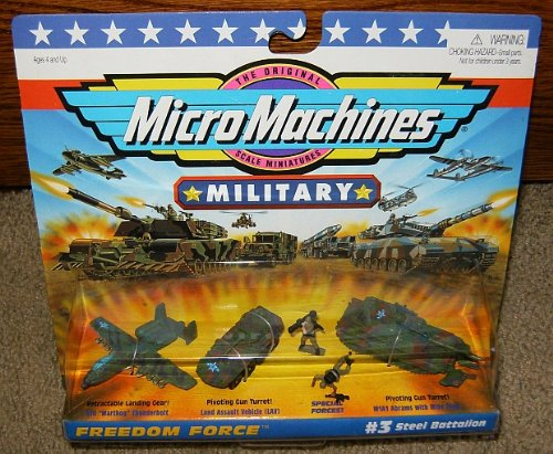 Micro Machines Steel Battalion #3 Military Collection