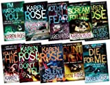 Karen Rose 10 Books Collection Pack Set (I Can See You, Count to Ten, I Watching You, Silent Scream, Have You Seen Her?, Die for Me, You Can't Hide, Scream for Me, Nothing to Fear, Dont Tell) Karen Rose