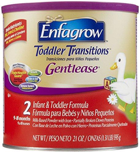 Enfagrow Gentlease Toddler Formula - Powder - 21 Oz - 4 Pk