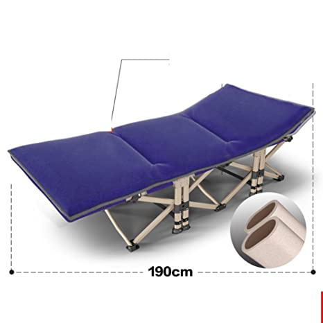 Lit Pliant/Lit NAP/Single Lunch Bed/Chaise De Bureau/Lit Simple/Lit Simple/Lit De Camp/Lit Pliable Portable-Q