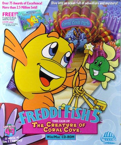 Awardwiki freddi fish 5 the case of the creature of for Freddi fish 5