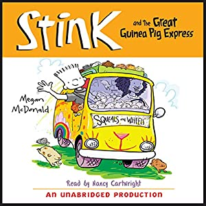 Stink and the Great Guinea Pig Express Audiobook