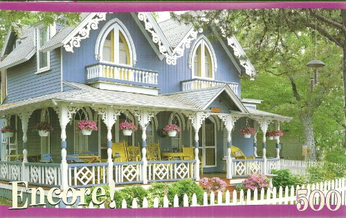 Encore! Gingerbread House in MA 500 Piece Jigsaw Puzzle - 1