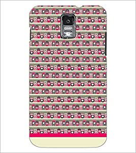 PrintDhaba Pattern D-1941 Back Case Cover for SAMSUNG GALAXY S5 (Multi-Coloured)