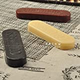 1PC DIY handmade leather edge processing agent leather milling wax ( Colour: Random)