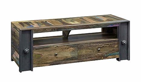 Sólido mueble de Tv con 2 cajones Almira PRO - estilo industrial