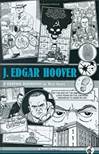 "Cover of ""J. Edgar Hoover: A Graphic Biog..."