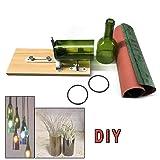 Lfhelper Glass Bottle Cutter Glass Craft DIY Machine for Cutting Beer/Wine/Whiskey/Champagne Bottles Art DIY Glass Bottle Recycle Cutter Tool #02 (Tamaño: #02)