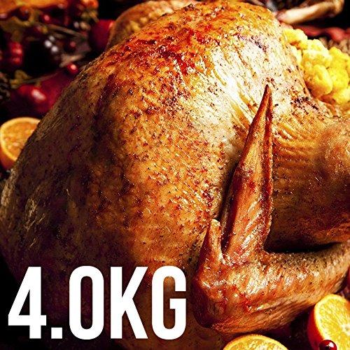 七面鳥 ターキー丸[冷凍・生] 約4kg / 8-10ポンド フランス産【販売元:The Meat Guy(ザ・ミートガイ)】
