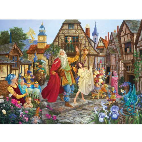 Cheap SunsOut RETURN OF THE FABLEMAKER JIGSAW PUZZLE (B0037FZ3ZW)