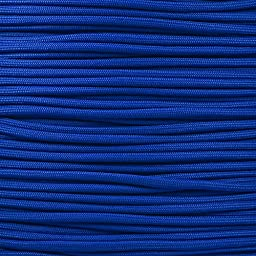 550 Firecord Paracord Parachute Cord Emergency Fire Starter Tactical Gear - Great for Crafting Survival Kit Zipper Pulls Handles Keychains Bracelets Lanyards Outdoor Lashing (Royal Blue, 50 feet)