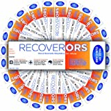 RecoverORS Adult Clinical Rehydration Powder for Food Poisoning, Hangovers, Diarrhea - 25 Pack