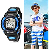 Vakind Multifunction Waterproof Child Boy Girl Sports Electronic Wrist Watch