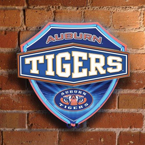 Auburn Tigers Neon Light, Auburn Neon Sign, Neon Auburn Light