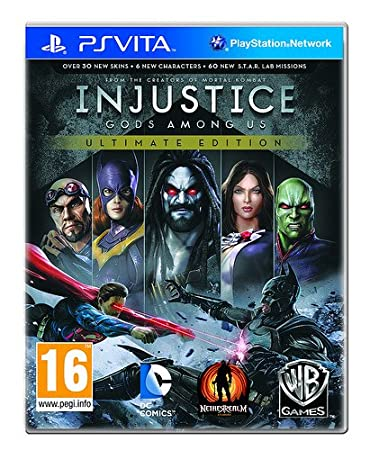 Injustice: Gods Among Us Ultimate Edition - PS Vita [Digital Code]